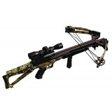 Carbon Express Covert CX-3SL+ Crossbow Package with Deluxe Lighted 4x32mm Scope - Kryptek Highlander (Camo)