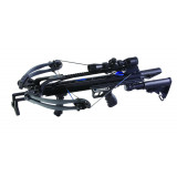 Carbon Express Intercept Axon AR-Style Crossbow Package with 4x32 Glass Etched Reticle Lighted Scope - Carbon Black