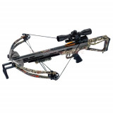 Carbon Express Covert CX-3 Crossbow with 4x32 Deluxe Multi-Reticle Illuminated Scope - Camo
