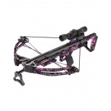 Carbon Express Covert 3.4 Crossbow Hot Pursuit Ready-to-Hunt Kit with 4x32 Multi-Reticle Scope - FLX Digital / Muddy Girl