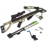 Carbon Express Covert Tyrant Crossbow Package with 4x32 Scope - Badlands Approach Camo