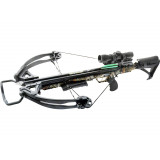 Carbon Express X-Force Blade Pro Crossbow with Cocking Winch - 4x32 Deluxe Scope, Camo