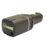 HME DC Car Scent Eliminator with Dual USB