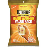 HeatMax HotHands Hand Warmers - 10 Pair Pack