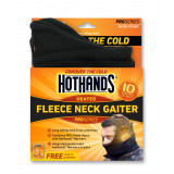 HeatMax HotHands Heated Fleece Neck Gaiter - Black OSFM
