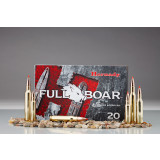 Hornady Full Boar Rifle Ammunition .300 Win Mag 165 gr GMX 3100 fps 20/box