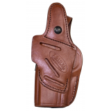 Tagua 4in1 Inside the Pants Holster with Snap for Glock 19 23 32 Brown Right Hand