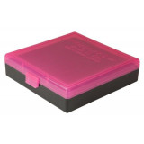 Berry's Ammo Box #008 - (.40/45 ACP/10mm) Standout Pink, 100 rds