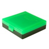 Berry's Ammo Box #001 - 380/9mm Zombie Green & Black - 50 rds