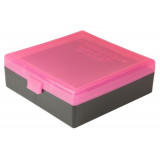 Berry's Ammo Box #007 - 44 Spl/Mag Standout Pink & Black, 100 rds