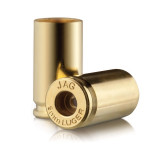 Jagemann Unprimed Brass Handgun Cartridge Cases 9mm 100/ct