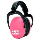 ProEars Ultra Sleek Passive Series Earmuffs - Pink