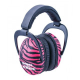 ProEars Ultra Sleek Pink Zebra