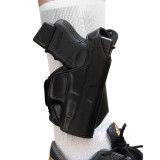 Tagua Leather Ankle Holster Black FOR GLOCK 19