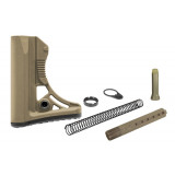 Leapers UTG PRO Model 4 Ops Ready S3 Mil-spec Stock Kit - Flat Dark Earth