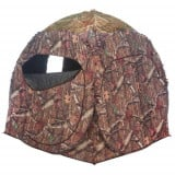 Ameristep Doghouse Spring Steel 2-Person Ground Blind - Mossy Oak Breakup Infinity