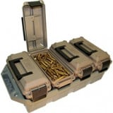 MTM 4-Can Ammo Crate-FDE