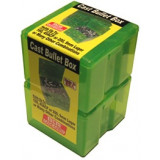 MTM Cast Bullet Box - Clear Green, 2/Pack