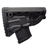 The Mako Group AK-47 Survive ButtStock with Mag Carrier Black