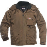Nite-Lite Elite Non-Insulated Coat - Brown