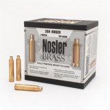 Nosler Unprimed Brass Rifle Cartridge Cases 50/ct .204 Ruger