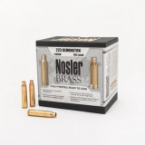 Nosler Unprimed Brass Rifle Cartridge Cases 50/ct .223 Rem