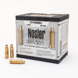 Nosler Unprimed Brass Rifle Cartridge Cases 100/ct .221 Fireball