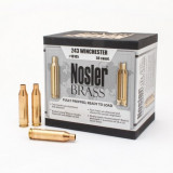 Nosler Unprimed Brass Rifle Cartridge Cases 50/ct .243 Win