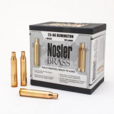 Nosler Unprimed Brass Rifle Cartridge Cases 50/ct .25-06 Rem
