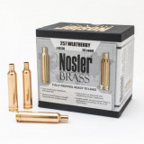 Nosler Unprimed Brass Rifle Cartridge Cases 50/ct .257 Wby