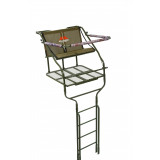 Millennium 18' Double Ladder Stand Includes Safe-Link 35' Safety Line