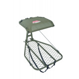 MIllennium M25 Steel Hang-On Tree Stand W Footrest Includes Safe-Link 35' Safety Line