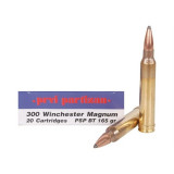 PPU Rifle Ammunition .300 Win Magnum 165 gr SPBT 20/Box