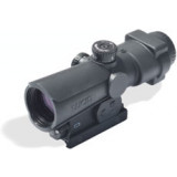 Lucid Optics P7 4x Combat Rifle Scope - 4x30mm