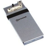 Somar Citation Book Caddy - Silver 5x12.25x1