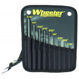 Wheeler Engineering Roll Pin Punch Set 9PC