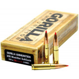 Gorilla Match Rifle Ammunition .300 AAC Blackout 208 gr A-Max 1030 fps 20/ct