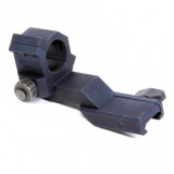 "ProMag AR-15/M16 Flat Top Cantilever Single Ring Mount for 1"" Red Dot Sight, Anodized Aluminum"