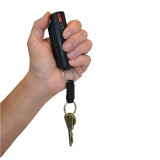 Personal Security Eliminator 1/2 oz. Pepper Spray Canister with Black hard case - Maximum Strength