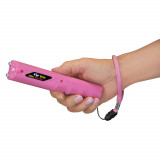 ZAP Stick - 800,000 Volt Stun Gun with Flashlight - Pink