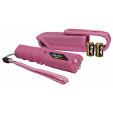 Personal Security ZAP Stick with Light & Case - 800,000 Volt Pink