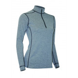 Polarmax Women's Micro H2 Zip Mock Shirt