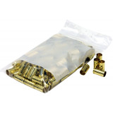 BVAC New Unprimed Brass Handgun Cartridge Cases 100/ct 9mm (+P)