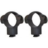 "Redfield 2-Piece Steel Twin Dovetail Style Scope Rings - 1"" X-High TD, Matte"