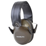 Rudolph Ear Protection - Passive Slim Design - Grey