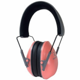 Radians Lowset Passive Ladies Ear Muff NRR21 - Coral/Charcoal