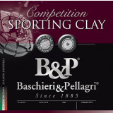 B&P Competition Sporting Clay Shotshells HV- 12ga 2-3/4 In 1-1/8 oz #8 1330 fps 25/ct