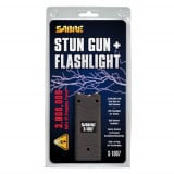 Sabre 3.8 Million Volt Stun Gun with LED Flashlight - Black