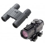 Steiner M332 3x32mm Prism Sight AND P1026 10x26mm Binocular Combo