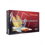 Hornady Superformance Rifle Ammunition .300 Win Mag 180 gr GMX 3070 fps 20/ct
